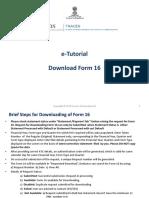 Tutorial Form 16