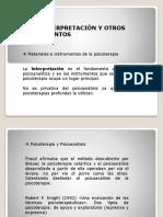 ETCHEGOYEN DE ÑA INTERPRETACIÓN Y OTROS INSTRUMENTOS