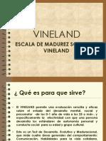 test de Vinelland