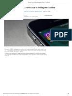 Como usar o Instagram Stories.pdf