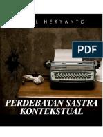 Perdebatan Sastra Kontekstual - ARIEL HERYANTO