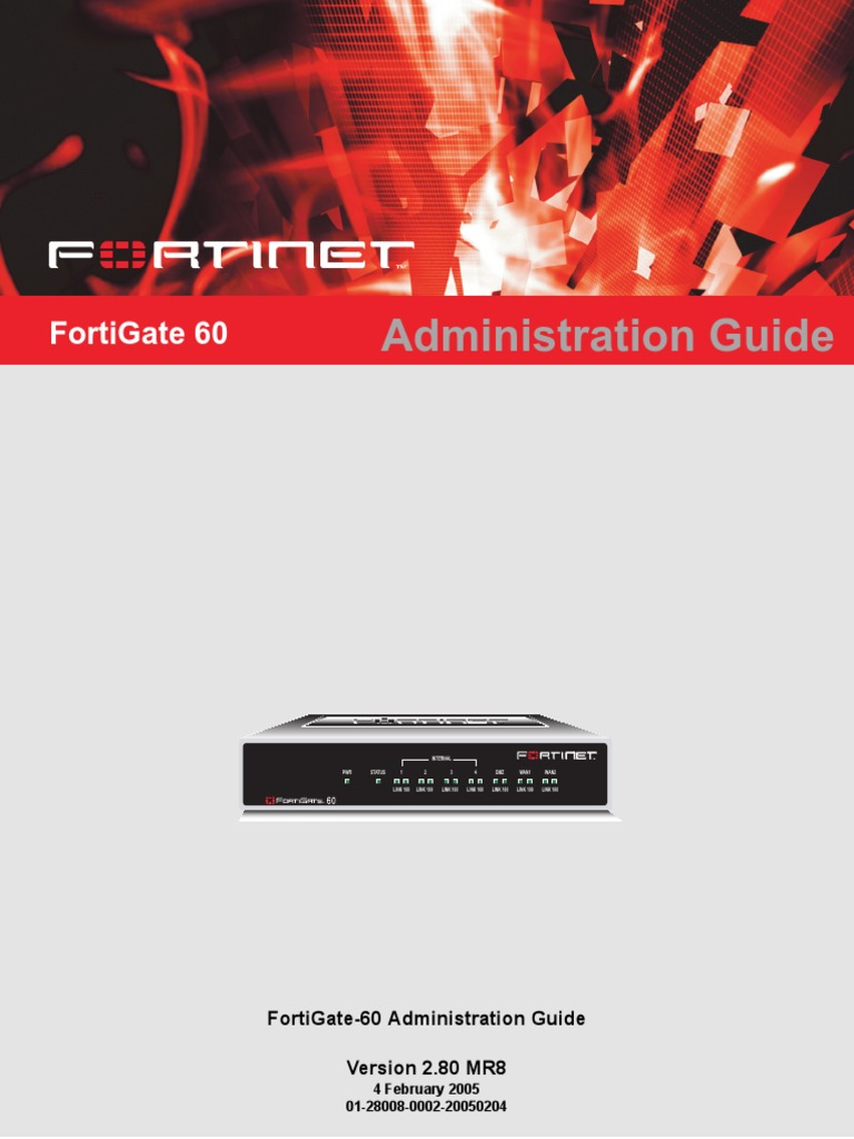 Fortinet Admin Guide pdf   Ip Address   Router (Computing)
