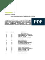 Herrramientas y Equipos de Icm