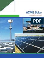 ACME Solar Brochure