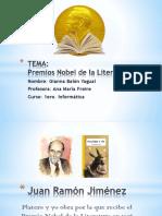 Premios Nobel de La Literatura