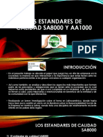 Los Estandares de Calidad Sa8000 y Aa1000