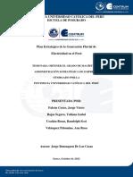 Plan Estrategico Generacion ELECTRICIDAD Fluvial