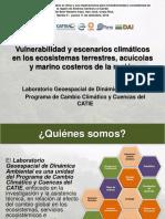 2 Vulnerabilidad y Escenarios Riesgos Climaticos