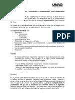 Criterios de Evaluación y Características Fundamentales Para La Elaboración de Un Ensayo