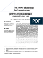 Articulo de Cromatografia