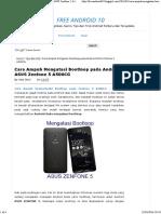 Cara Ampuh Mengatasi Bootloop pada Android ASUS Zenfone 5 A500CG _ Free Android 10Free Android 10.pdf
