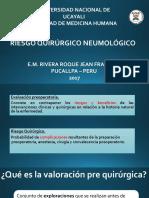 Riesgo Neumologico