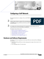 Configuring VOIP Network