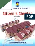 Hdmf Citizens Charter
