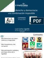Estado Derecho y Democracia Combinación Imposible