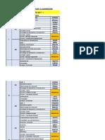 Códigos de Cursos ADMINISTRACION 2017-I ( I AL v Ciclo).Xlsx