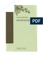Descargar PDF eBook Escatologia by Joseph Ratzinger Benedicto Xvi Epub