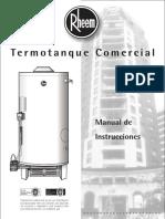 Manual Termotanques Rheem - Linea Comercial.pdf