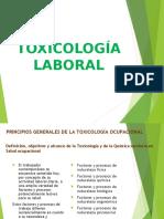 TOXICOLOGIA LABORAL