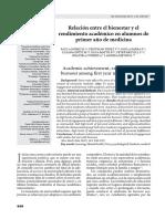 Relación entre el bienestar y el rendimiento académico en alumnos de primer año de medicina.pdf