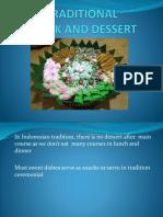 Traditional Dessert