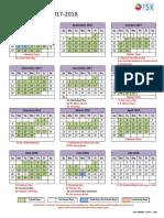 ISK Calendar 17-18