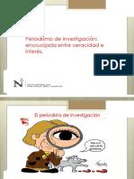 14.- Periodismo de Investigación