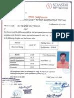Vijay Anand Certificate
