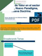 Creacion de Valor en El Sector Publico PREGRAD