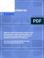 Introduction to Kaizen