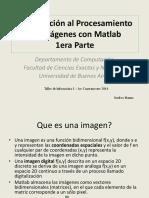 Introduccion Al Procesamiento de Imagenes Con Matlab