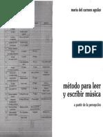 Método para Leer y Escribir Música - María del Carmen Aguilar.pdf
