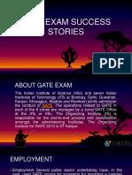 Gate Exam Success Stories