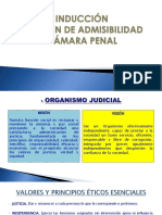 Presentación Admisibilidad Primera Sesión