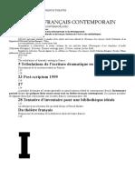 Jean Pierre Thibaudat Theatre Francais Contemporain Format