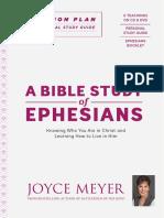 A Bible Study of Ephesians