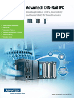 Advantech DIN-Rail IPC APAX-5580 Brochure en Valin
