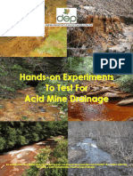 33723060 Hands on Experiments to Test for Acid Mine Drainage