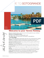 Tennis Holidays to Sotogrande , Spain