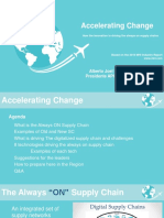 Accelerating Change Supply Chain