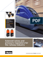 Ferrovia Valvulas Solenoides-parker