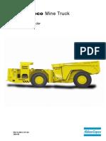 MT2000-Mine Truck-Manual Del Operador-Atlas Copco