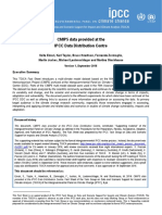 TGICA Fact Sheet CMIP5 Data Provided at the IPCC DDC Ver 1 2016
