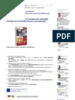 Deutsch Für Brasilianer Lernen Mit Langzeitgedächtnis-Lernmethode