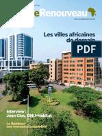 Afrique Renouveau Avril 2016