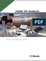 Analizor Portabi; De Metale Grele _As_Cu Si Hg