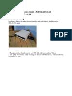 Cara Menggunakan Modem USB Smartfren Di Mikrotik