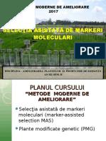 Selectia Asistata de Markeri Moleculari