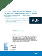 Zimbra EMC Storage Design Data Protection Vmware Zimbra