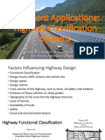 1.1 Pavement Applications - Highway Classification Systems (Philippines)
